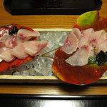 比良山荘 - 鯉の洗い