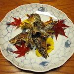 比良山荘 - 鮎の塩焼き