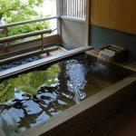 Nishimurayahonkan - 露天風呂付客室の露天風呂