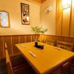 宮川本廛 - テーブル個室(半個室)