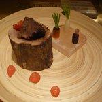 イル テアトリーノ ダ サローネ - 前菜2:豚ホホ肉のコンフィ(2014.4)
