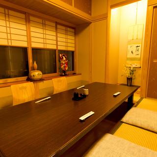 完全個室接待・慶事・法事に最適な個室