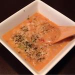 Aプラス - オリジナルトマトヌードルのスープを残してリゾットにしてもらいます。 280円。 ※単品ではありません。