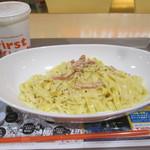 ファーストキッチン - カルボナーラセット720円