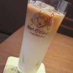 ビアオクロック - <2014年5月>アイスカフェラテ プラス80円 「豆nakano」のコーヒー豆使用