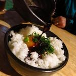 まるう商店 - 秘伝煮汁TKG380円