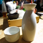 まるう商店 - 日本酒 松竹梅豪快(小)400円