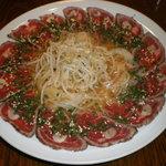 三隈 - 牛肉のたたき