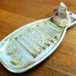 山神うどん - 薬味の生姜