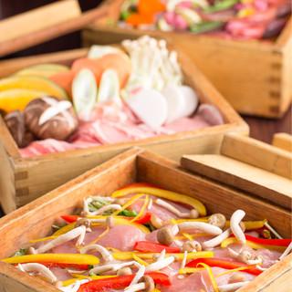 個室居酒屋 東京燻製劇場 - 麦豚と季節野菜のせいろ蒸し。素材のうまみ◎