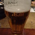 炭ノ蔵 - 生ビール