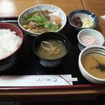 串はし - 肉豆腐定食