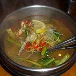 アジアガーデン - トムヤムクン麺(温) ¥750