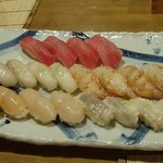 樹花 - 寿司5品