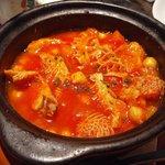 2692876 - ハチノスとひよこ豆のトマト煮