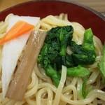 のりちゃん - 標準の具(大根、人参、ゴボウ、菜の花、水菜)