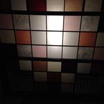 とっくり - トイレの上の和紙。きれい!