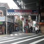 地魚酒場 魚八商店 - 140416JR鶴橋駅より
