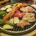 バーベキューガーデン - 料理写真:BBQ