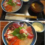 26930656 - 漁師丼。魚洋丸(名古屋市)食彩賓館撮影
