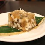 松翁 - 穴子の煮凍り