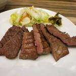 牛たん炭焼 利久 - 料理写真:牛たんヘルシー定食