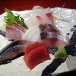 至福の富山湾 海鮮山鮮 - 【富山湾直送鮮魚 お刺身定食 ¥1,000】