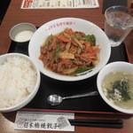 陳麻家×日本橋焼餃子 - 牛肉と野菜のコショウ炒  ¥500-