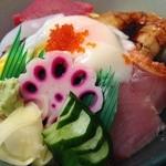 富士寿司 - 海の極味膳 1580円