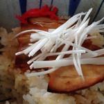 一福亭 - ミニ炙り豚丼