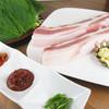 4ひきのこぶた - 料理写真:サムギョプサル