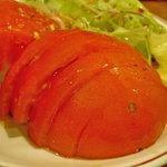 串焼 眞衣千 - 冷やしトマト