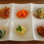 2695829 - パエリアランチ1300円の前菜