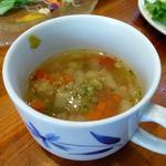 チャヤ ジャルディーノ シロヤマ - 本日のスープ