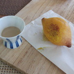 ポレポレ - アミューズ 長谷川さん家のレモンを使ったドーナツ