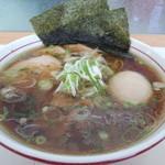 らーめん武行 - 特製醤油ラーメン(大)