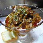 イカのトマトソース煮