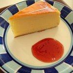 グリーンオアシス - チーズケーキセット