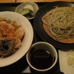 2696583 - 冬限定 冬の海鮮天丼セット ¥1365