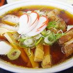 中華そば 大石家 - チャーシュー麺