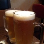 法善寺 三平 - 生ビール
