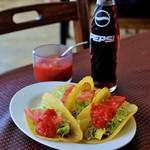 メキシコ - タコスとコーラ