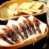 酒の大桝 - 料理写真:看板メニュー『クリームチーズの味噌漬け』&『干しホタルイカ』