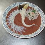 日本料理 日の出 - ふぐの菊と片羽の鶴