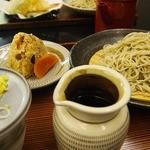 京や - ざる蕎麦 680円