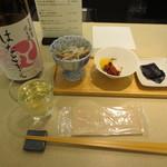 キキザケバー - スタートメニューはつまみとセットで1080円。