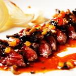 酒の大桝 wine-kan - シェフおすすめの調理で食す『本日の信州牛料理』