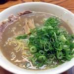 天骨庵 慶心 - 天骨麺