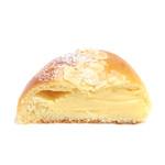 石窯パンの店 ゴッホ - 黄金のクリームパンの断面 '14 3月上旬