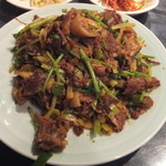 延吉香 - 狗肉炒め